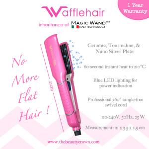 Wafflehair - Pink Blossom